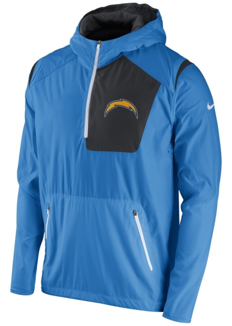 Nike Men's San Diego Chargers Vapor Speed Fly Rush Hooded Jacket