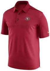 Nike Men's San Francisco 49ers Elite Coaches Polo