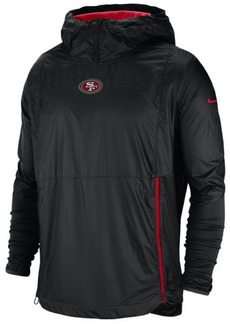 Nike Men's San Francisco 49ers Lightweight Alpha Fly Rush Jacket