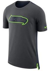 Nike Men's Seattle Seahawks Travel Mesh T-Shirt