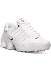 Nike Men's Shox Nz Eu Running Sneakers from Finish Line
