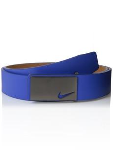 Nike Men's Sleek Modern Plaque Belt
