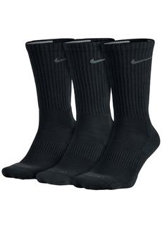 Nike Men's Socks, 3 Pair Pack Dri Fit Crew