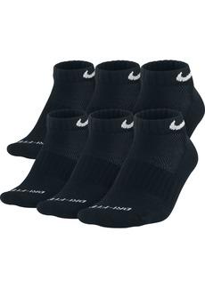 Nike Men's Socks, Dri Fit Low Cut 6 Pack