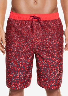 Nike Men's Splash Print Water Shedding Swim Trunks, 9