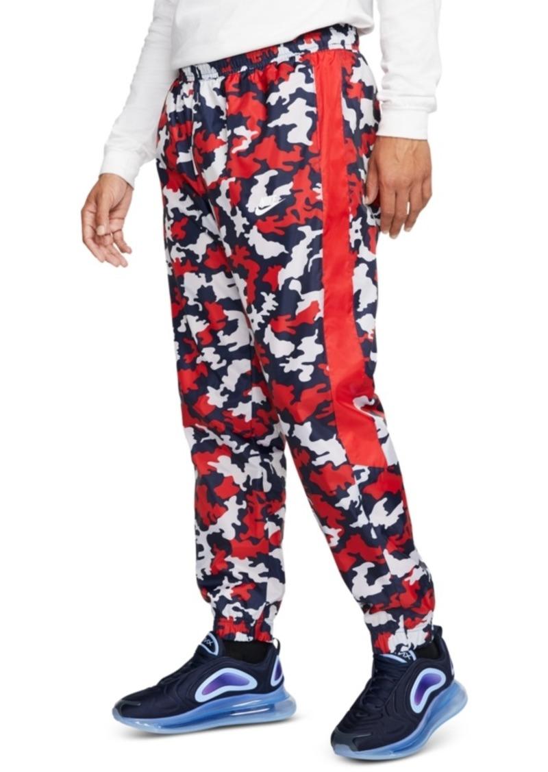 Nike Men's Sportswear Camo Track Pants