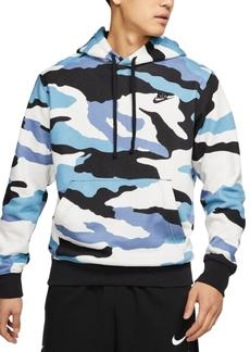 Nike Men's Sportswear Club Camo Hoodie
