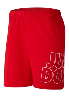 Nike Men's Sportswear Fleece Just Do It Shorts