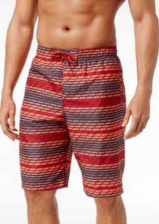 Nike Men's Swift Striped Volley Swim Trunks, 11