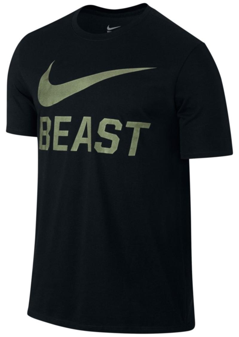 T Men's Nike Beast Swoosh Shirt Shirts qzwdtw7