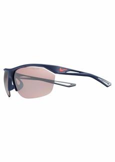 Nike Men's Tailwind E Rectangular Sunglasses  70 mm
