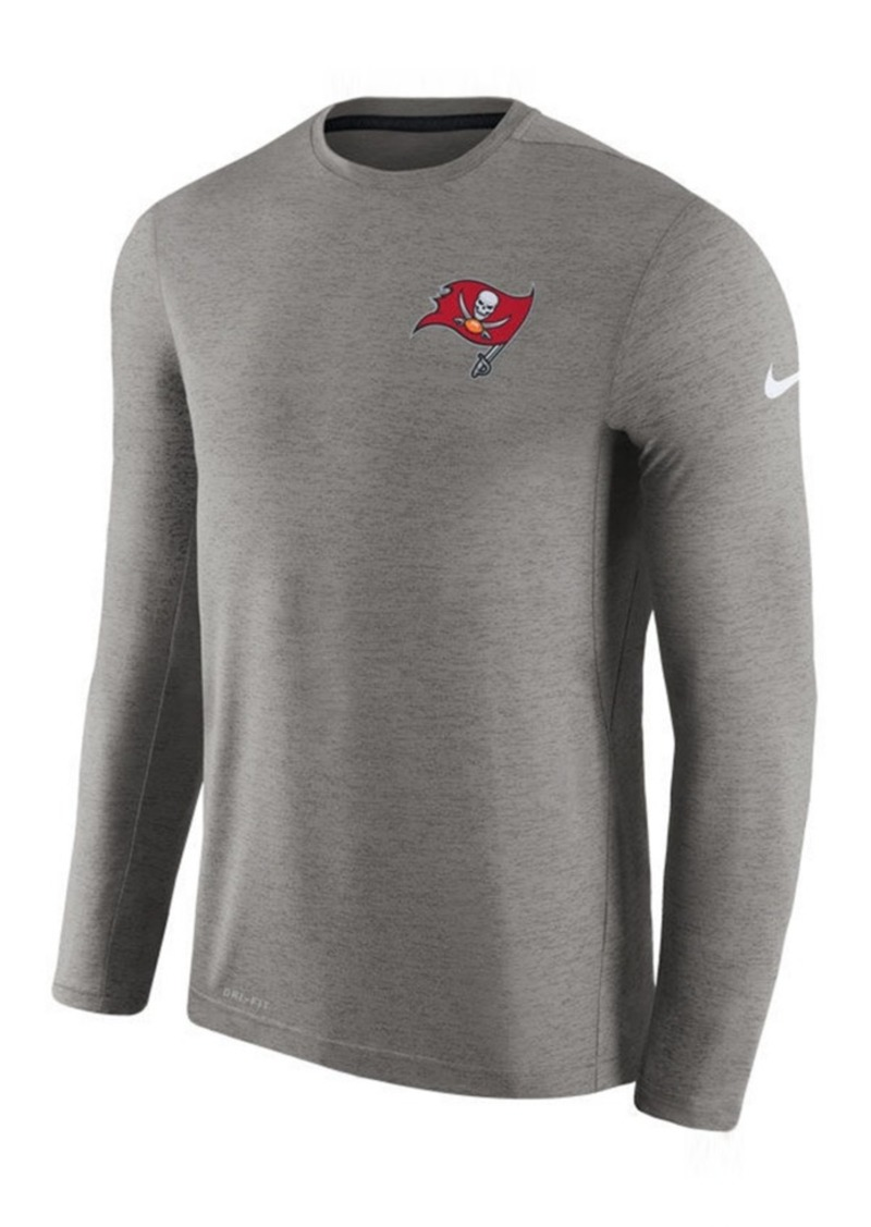 Nike nike men 39 s tampa bay buccaneers coaches long sleeve t for South bay t shirts