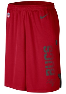 Nike Men's Tampa Bay Buccaneers Player Knit Breathe Shorts