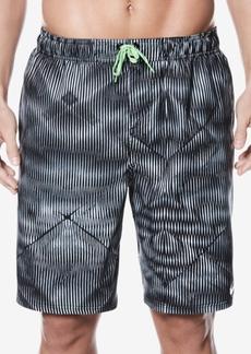 Nike Men's Techno Tear Printed Swim Trunks