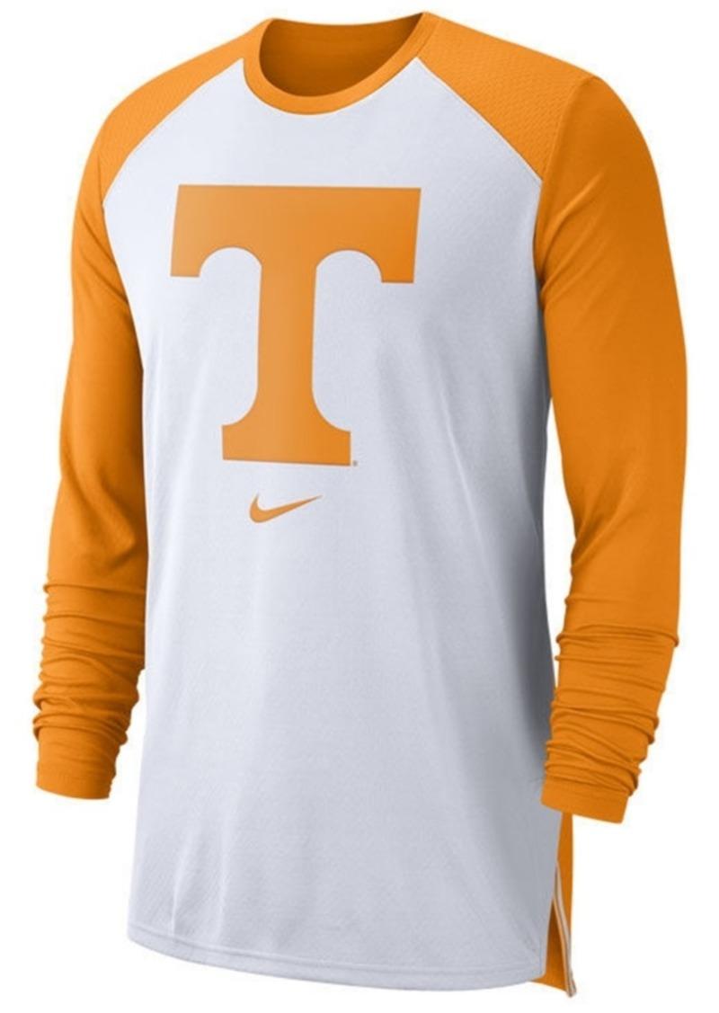 Nike Men's Tennessee Volunteers Breathe Shooter Long Sleeve T-Shirt