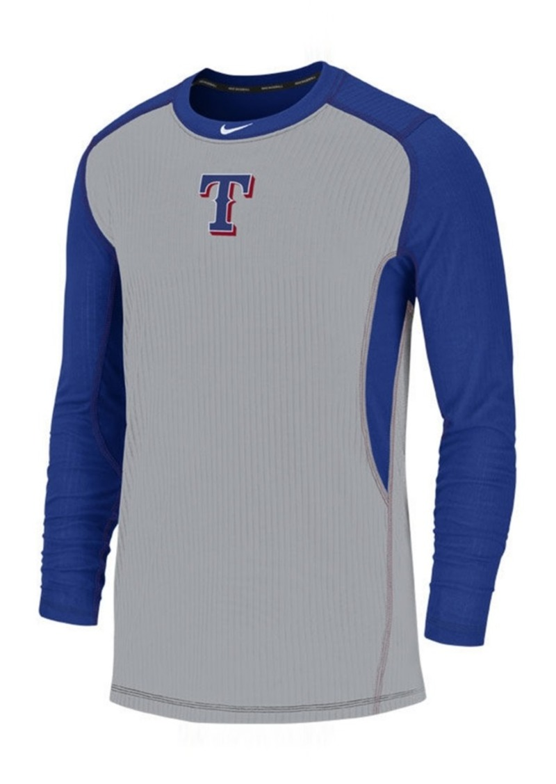 Nike Men's Texas Rangers Authentic Collection Game Top Pullover