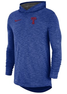 Nike Men's Texas Rangers Dry Slub Hooded T-Shirt