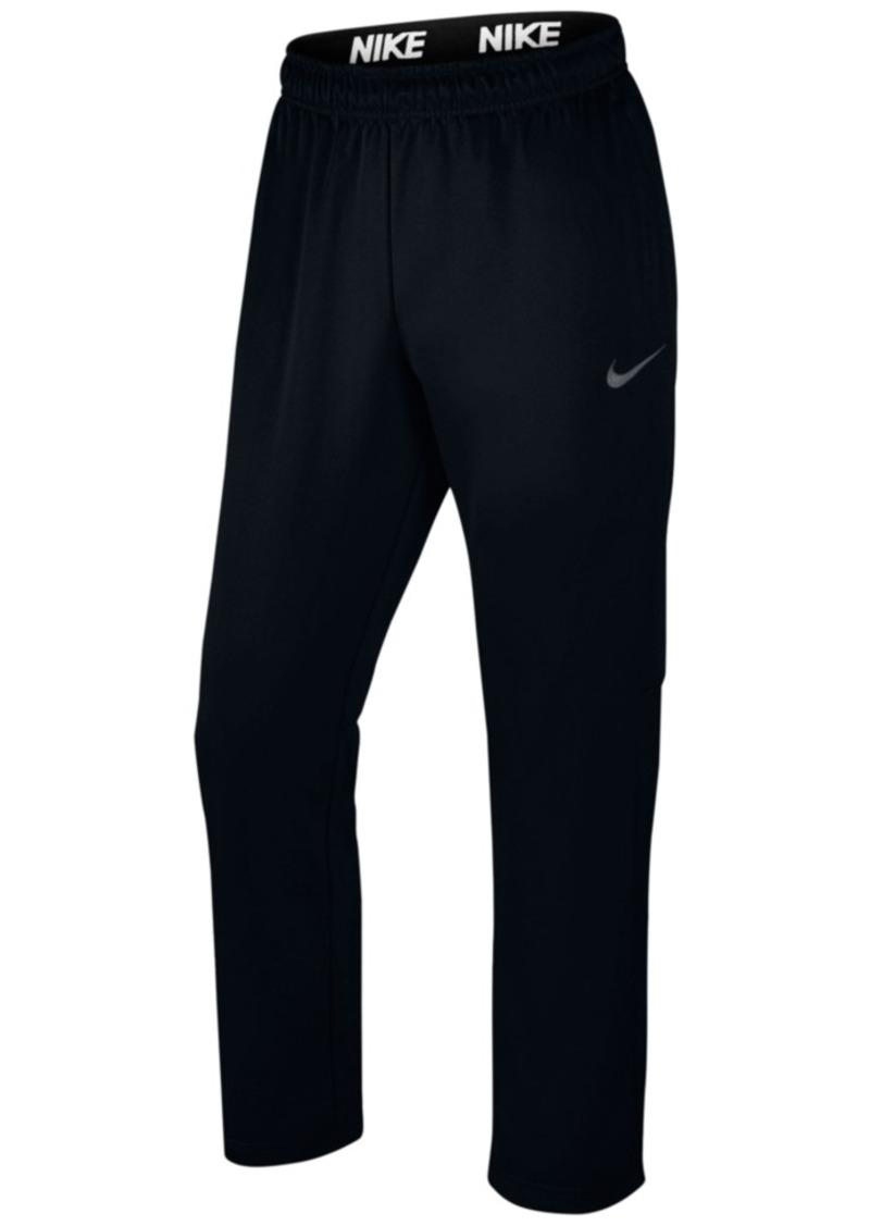 5aa72ad652ef Nike Nike Men s Therma Fleece Open-Bottom Sweatpants