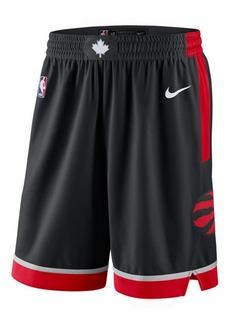 Nike Men's Toronto Raptors Statement Swingman Shorts