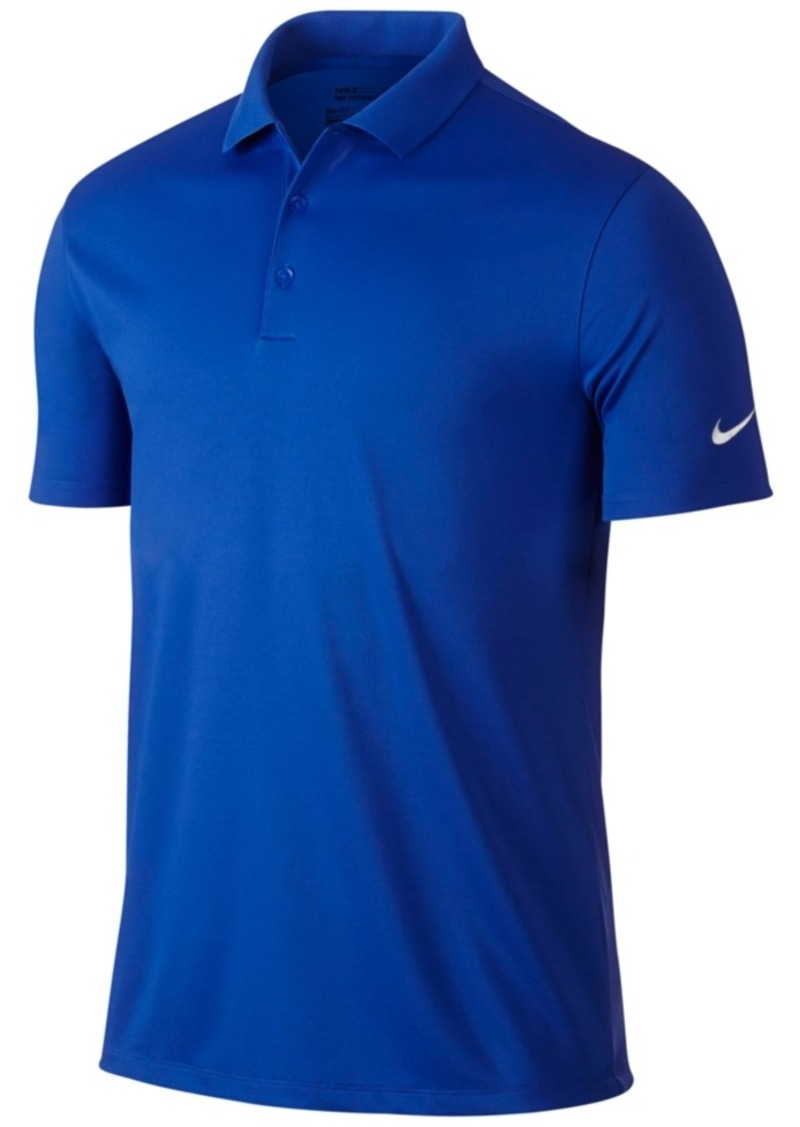 Nike nike men 39 s victory solid stretch dri fit golf polo for Nike dri fit victory golf shirts