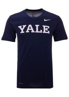 Nike Men's Yale Bulldogs Dri-Fit Legend Wordmark T-Shirt