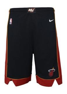 Nike Miami Heat Icon Swingman Shorts, Big Boys (8-20)