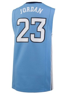 Nike Michael Jordan North Carolina Tar Heels Replica Basketball Jersey, Big Boys (8-20)