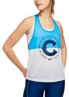 Nike Women's Miler Dri-fit Chicago Racerback Tank Top