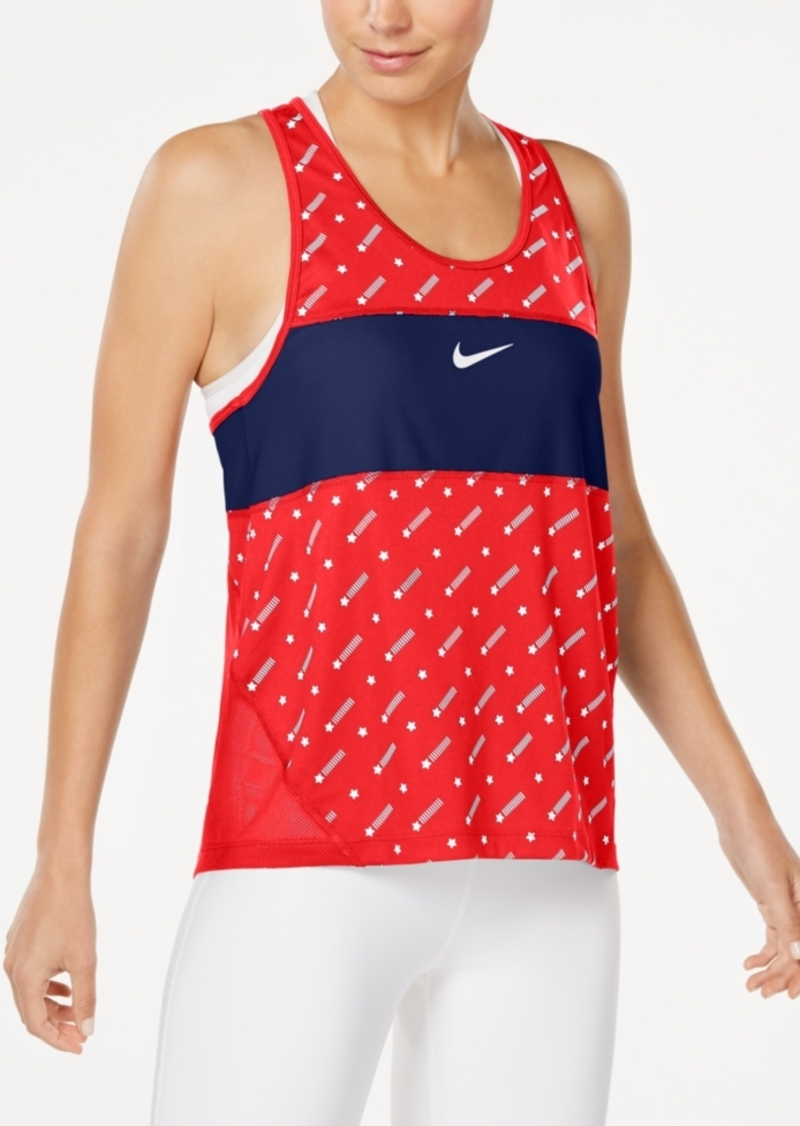 Nike Women's Miler Dri-fit Racerback Tank Top