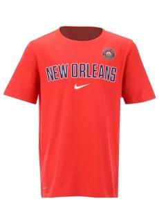 Nike New Orleans Pelicans Facility T-Shirt, Big Boys (8-20)