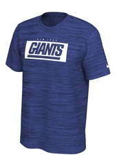 Nike New York Giants Men's Legend Velocity Training T-Shirt