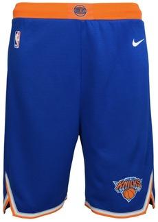 Nike New York Knicks Icon Swingman Shorts, Big Boys (8-20)