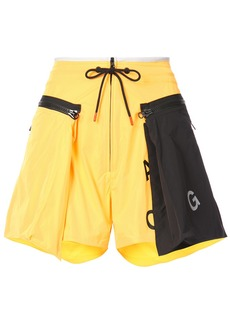 Nike NikeLab ACG cargo shorts - Yellow & Orange