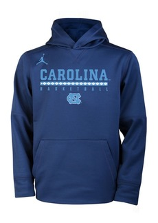 Nike North Carolina Tar Heels Therma Hooded Sweatshirt, Big Boys (8-20)