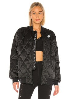 Nike NSW Air Synthetic Fill Satin Jacket