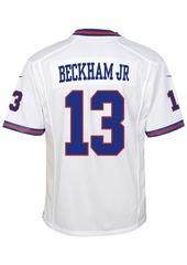 Nike Odell Beckham Jr. New York Giants Color Rush Jersey, Little Boys (4-7)