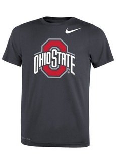 Nike Ohio State Buckeyes Tonal Logo Color Pop T-Shirt, Big Boys (8-20)