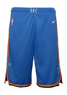 Nike Oklahoma City Thunder Icon Swingman Shorts, Big Boys (8-20)