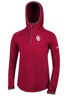 Nike Oklahoma Sooners Element Logo Zip Hoodie, Big Girls
