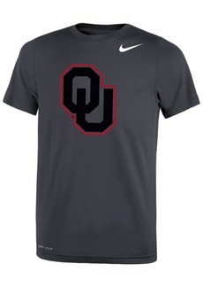 Nike Oklahoma Sooners Tonal Logo Color Pop T-Shirt, Big Boys (8-20)