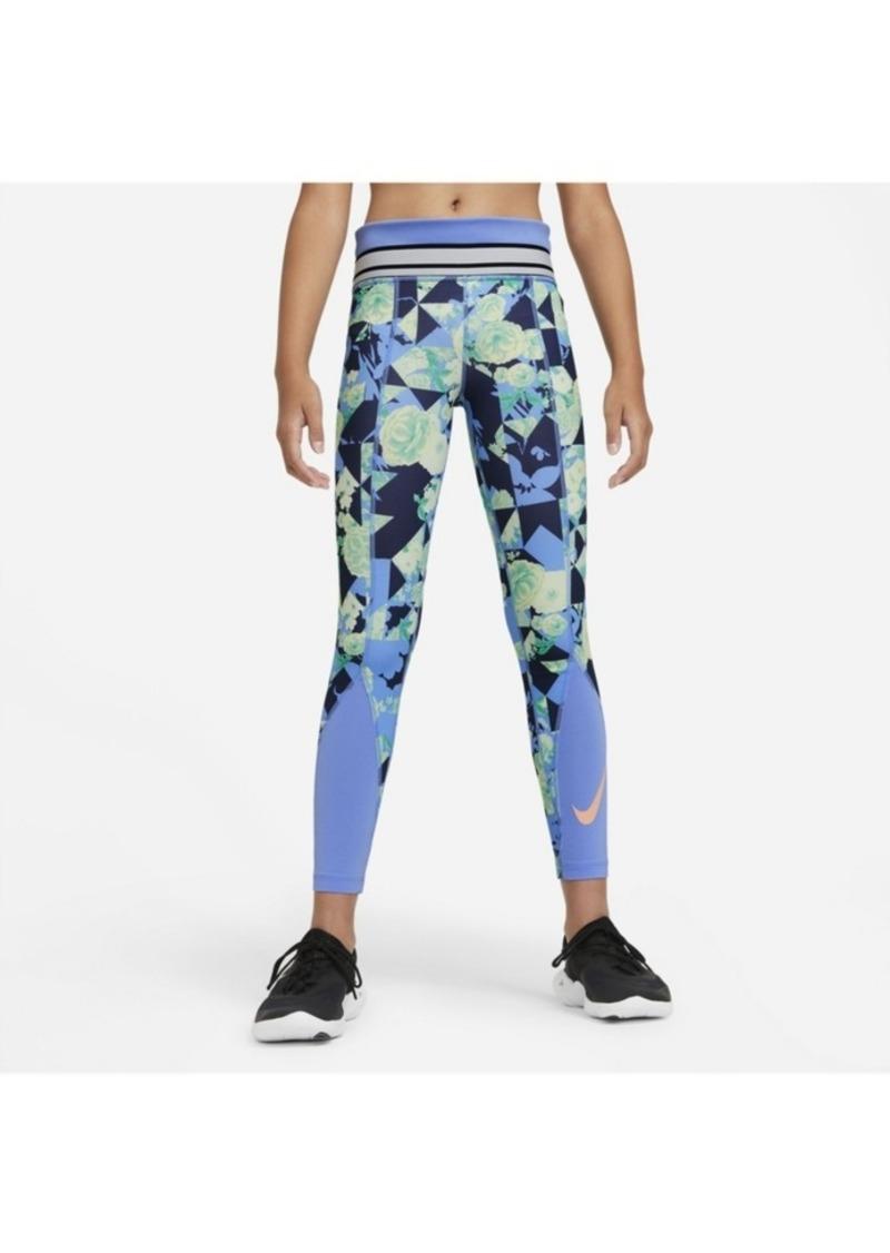 Nike One Big Girl's Training Tights