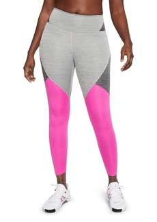 Nike One Color Blocked 7/8 Tights