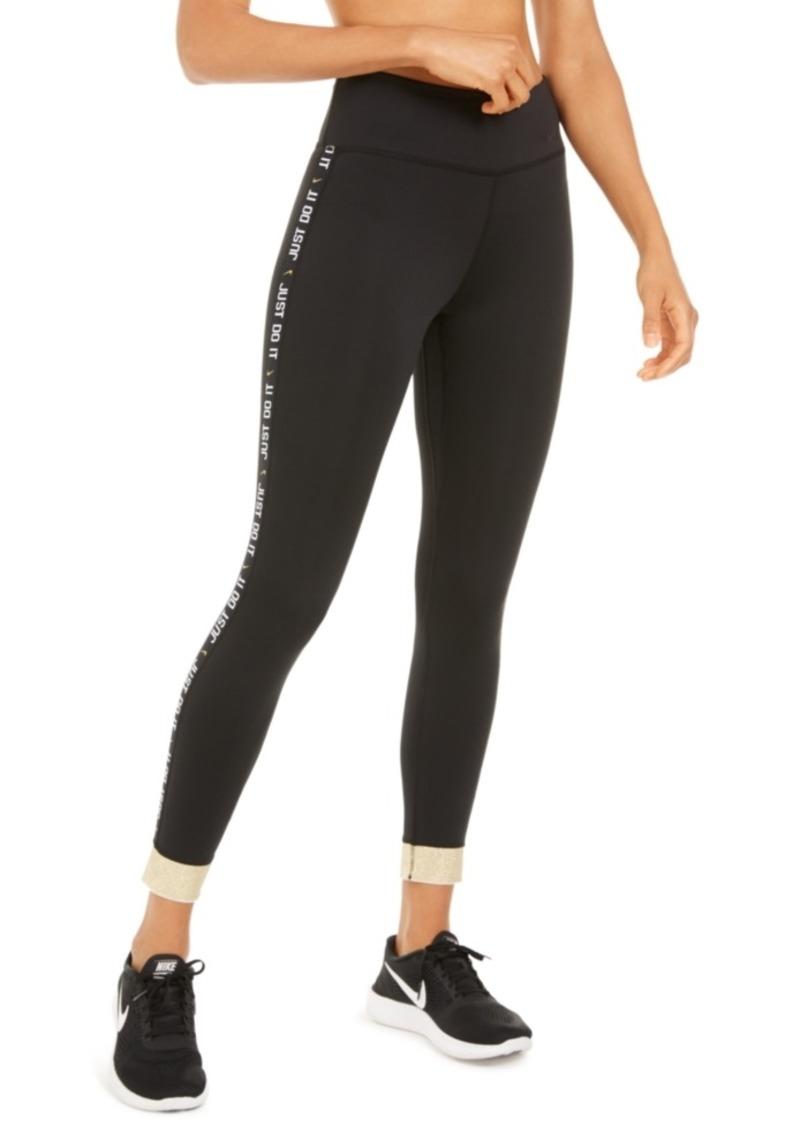Nike Women's One Dri-fit Cuffed Leggings