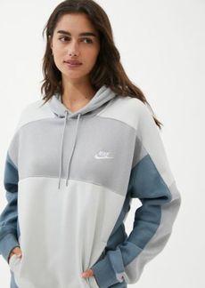 Nike Oversized Colorblock Hoodie Sweatshirt