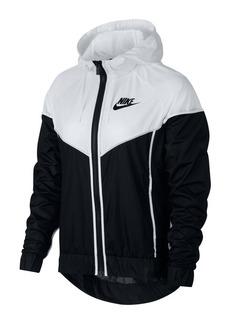 Nike Paneled Colorblock Hooded Jacket