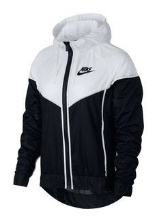 Nike Paneled Colorblock Hooded Jacket