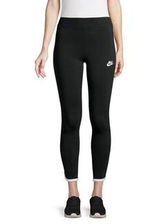 Nike Piping-Trim Logo Leggings
