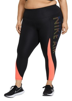 Nike Plus Color Blocked Running Tights