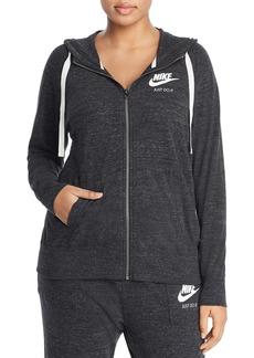 Nike Plus Gym Vintage Full Zip Hoodie