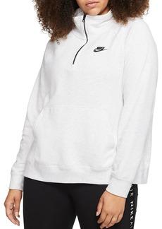 Nike Plus Half-Zip Sweatshirt